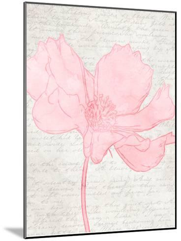 Watercolor Floral I-Taylor Greene-Mounted Art Print