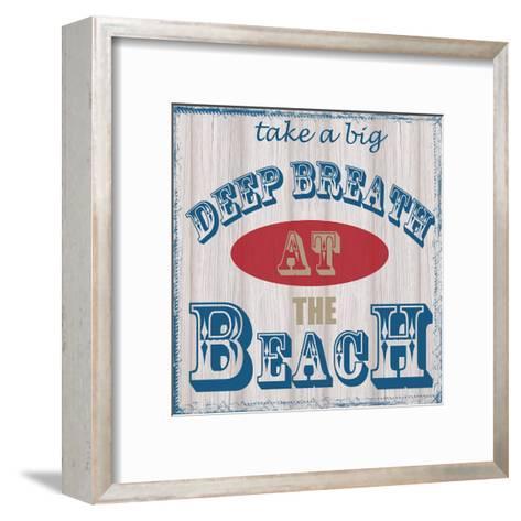 Take Deep Breath-Taylor Greene-Framed Art Print