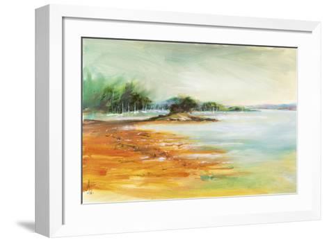 West Coast Inlet-Anne Farrall Doyle-Framed Art Print