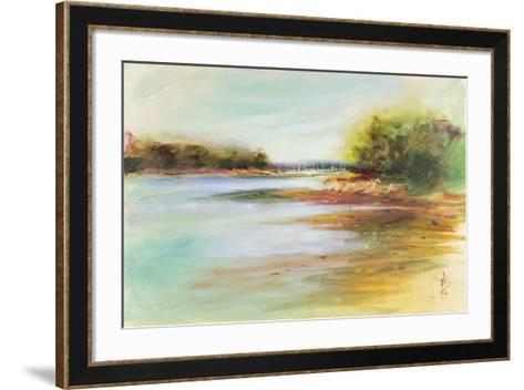 West Coast Sails-Anne Farrall Doyle-Framed Art Print