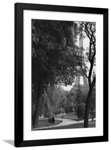 Eiffel Tower, Paris c1950-Jules Dortes-Framed Art Print