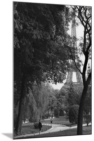 Eiffel Tower, Paris c1950-Jules Dortes-Mounted Giclee Print