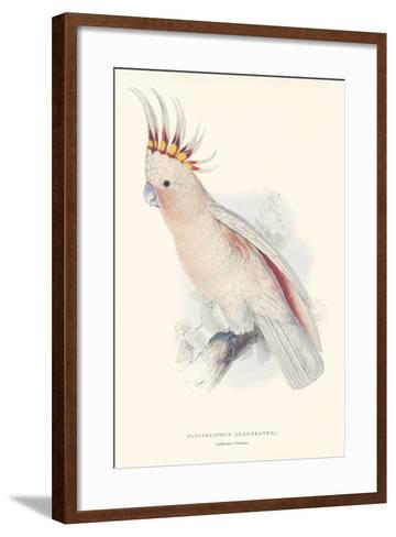 Leadbeater's Cockatoo-Edward Lear-Framed Art Print