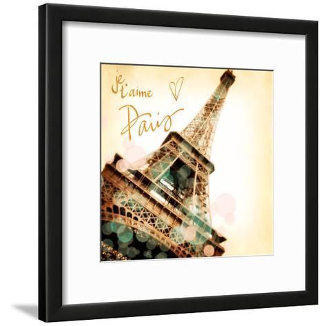 Paris je T'aime-Emily Navas-Framed Art Print