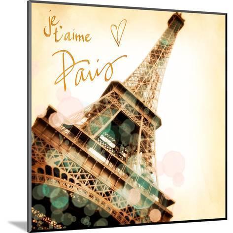 Paris je T'aime-Emily Navas-Mounted Art Print