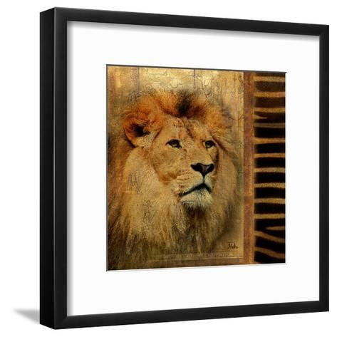 Elegant Safari IV-Patricia Pinto-Framed Art Print