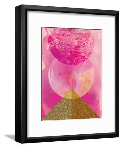 Golden Pink-Paula Mills-Framed Art Print