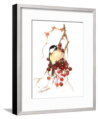 Chickadee 14-Suren Nersisyan-Framed Art Print