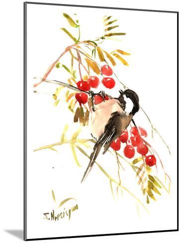 Chickadee 12-Suren Nersisyan-Mounted Art Print