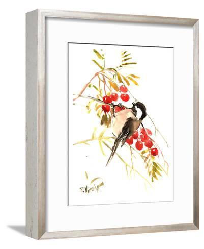 Chickadee 12-Suren Nersisyan-Framed Art Print
