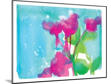 Pink Flowers-Paula Mills-Mounted Art Print
