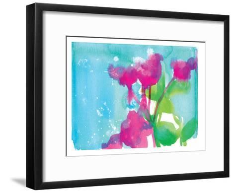 Pink Flowers-Paula Mills-Framed Art Print