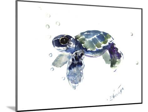 Baby Sea Turtle-Suren Nersisyan-Mounted Art Print