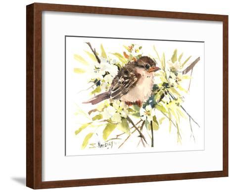 Baby Sparrow-Suren Nersisyan-Framed Art Print
