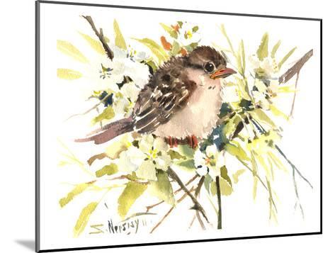 Baby Sparrow-Suren Nersisyan-Mounted Art Print