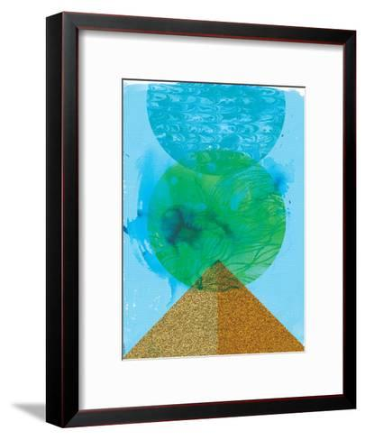 Golden Green-Paula Mills-Framed Art Print