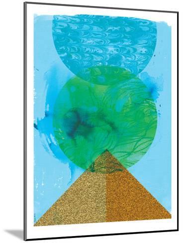 Golden Green-Paula Mills-Mounted Art Print
