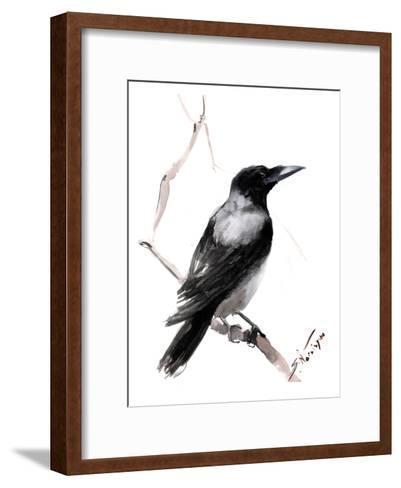 Hooded Crow 2-Suren Nersisyan-Framed Art Print