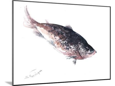 Salmon 2-Suren Nersisyan-Mounted Art Print