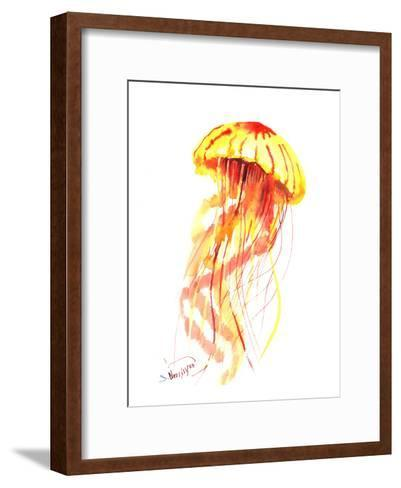 Jellyfish Fire-Suren Nersisyan-Framed Art Print
