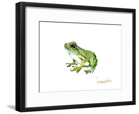 Common Frog-Suren Nersisyan-Framed Art Print