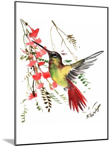 Hummingbird 17-Suren Nersisyan-Mounted Art Print