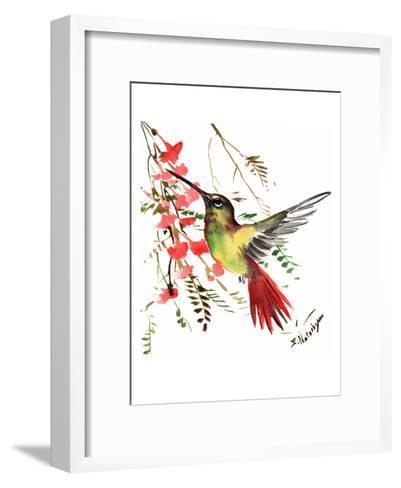 Hummingbird 17-Suren Nersisyan-Framed Art Print