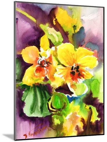 Yellow Orchids-Suren Nersisyan-Mounted Art Print