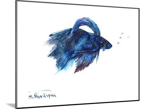 Beta Fish-Suren Nersisyan-Mounted Art Print