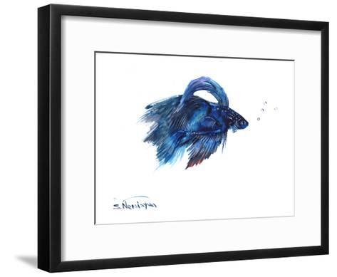 Beta Fish-Suren Nersisyan-Framed Art Print
