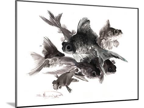 Black Moor 4-Suren Nersisyan-Mounted Art Print