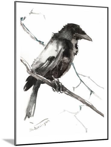 Raven 5-Suren Nersisyan-Mounted Art Print