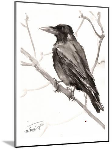 Raven-Suren Nersisyan-Mounted Art Print