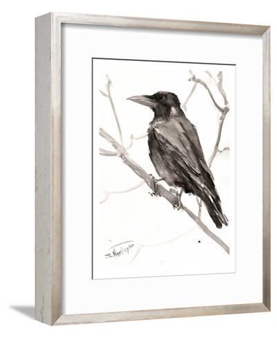Raven-Suren Nersisyan-Framed Art Print