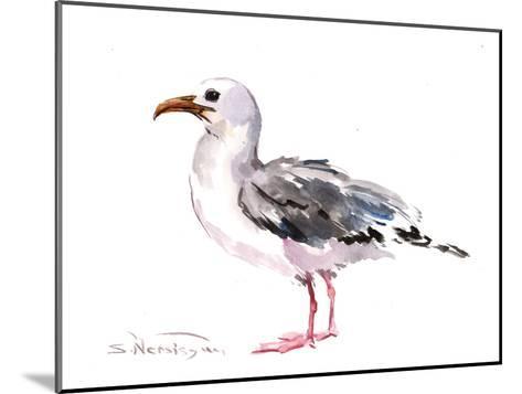 Seagull-Suren Nersisyan-Mounted Art Print