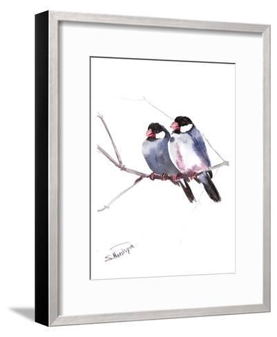 Java Sparrows-Suren Nersisyan-Framed Art Print