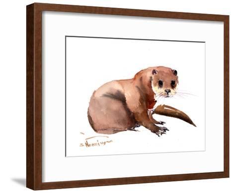 Otter-Suren Nersisyan-Framed Art Print
