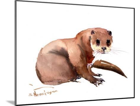 Otter-Suren Nersisyan-Mounted Art Print