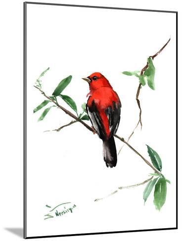 Summer Tanager 5-Suren Nersisyan-Mounted Art Print