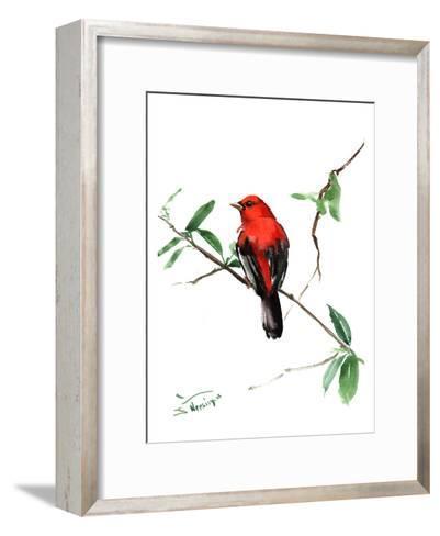 Summer Tanager 5-Suren Nersisyan-Framed Art Print