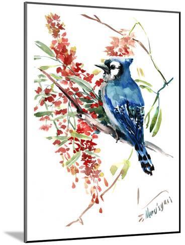 Blue Jay 9-Suren Nersisyan-Mounted Art Print