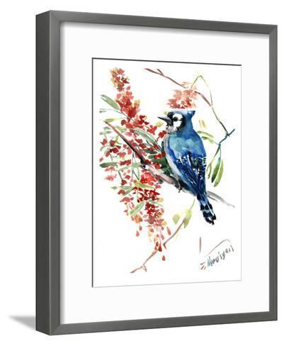 Blue Jay 9-Suren Nersisyan-Framed Art Print
