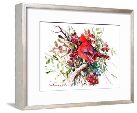 Red Cardinal 6-Suren Nersisyan-Framed Art Print