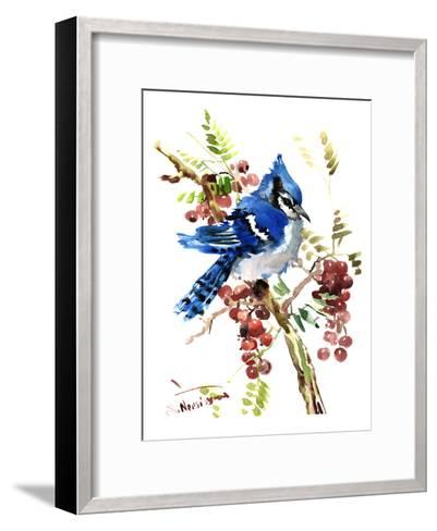Blue Jay 8-Suren Nersisyan-Framed Art Print