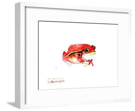 Tomato Frog-Suren Nersisyan-Framed Art Print