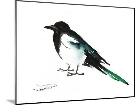 Magpie 2-Suren Nersisyan-Mounted Art Print