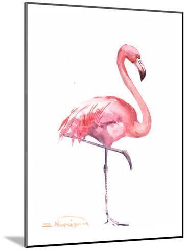 Flamingos 2-Suren Nersisyan-Mounted Art Print