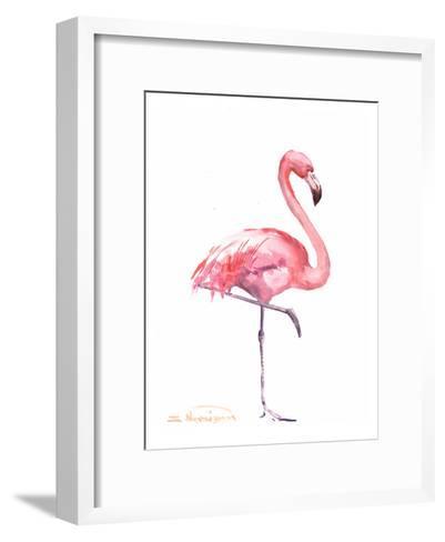 Flamingos 2-Suren Nersisyan-Framed Art Print