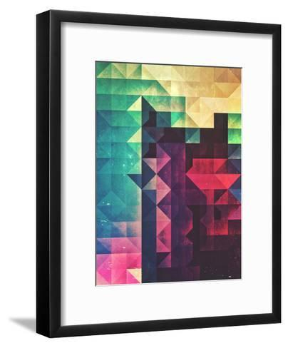 Frr Yww-Spires-Framed Art Print