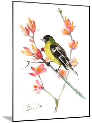 Goldfinch 3-Suren Nersisyan-Mounted Art Print